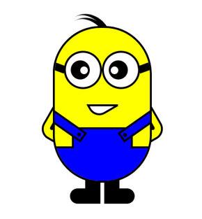 动态的小黄人ui图形特效
